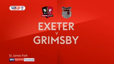 Exeter 2-0 Grimsby