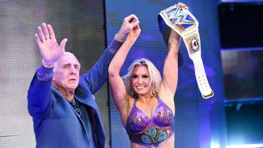 Ric Flair surprises Charlotte