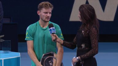 Emotional week for Goffin