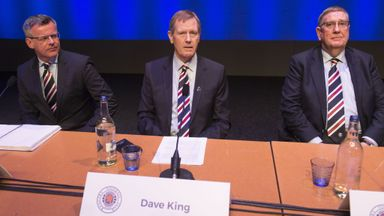 King: Rangers right to take time