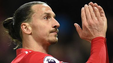 Ibrahimovic 'not in condition to start'