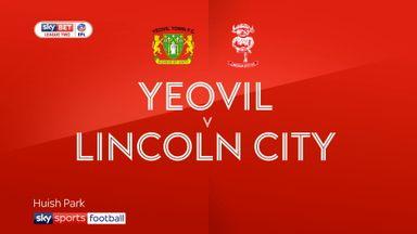 Yeovil 0-2 Lincoln