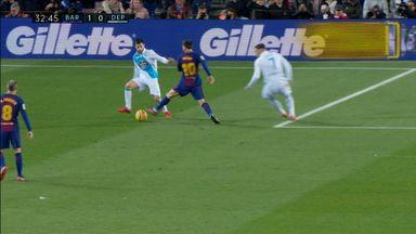 Messi & Alba nutmeg Gil