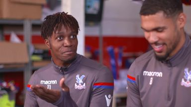 Is Zaha faster than Townsend?