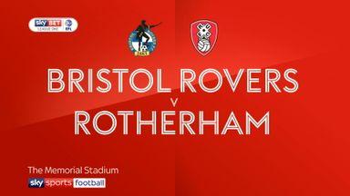 Bristol Rovers 2-1 Rotherham