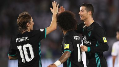 Al Jazira 1-2 Real Madrid