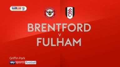 Brentford 3-1 Fulham