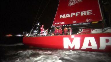 MAPFRE claim Leg 3 Volvo win