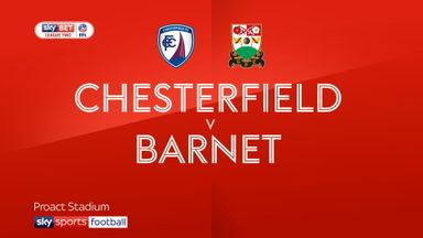 Chesterfield 2-1 Barnet