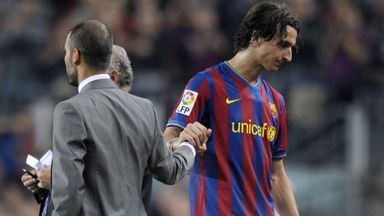 Zlatan: Pep most immature coach I've had