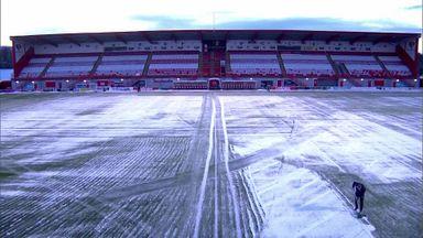 Hamilton's plastic pitch fails inspection