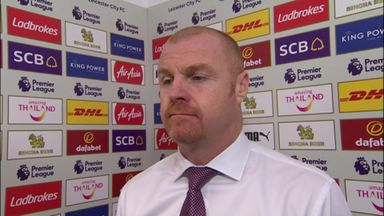 Dyche pleased despite defeat
