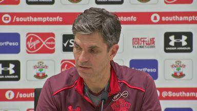 Pellegrino: I didn't see Guardiola rant