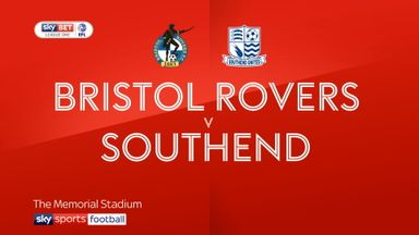 Bristol Rovers 3-0 Southend