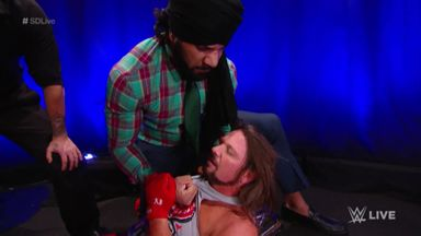 Mahal & Singh Brothers attack AJ Styles