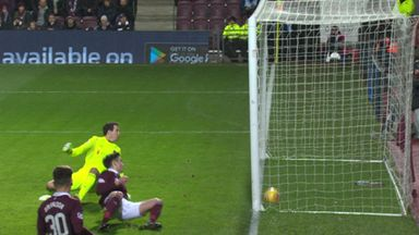 Hibs goal wrongly ruled out!