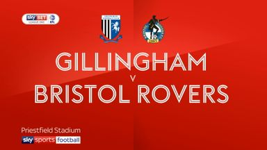 Gillingham 4-1 Bristol Rovers