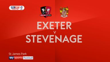 Exeter 2-1 Stevenage