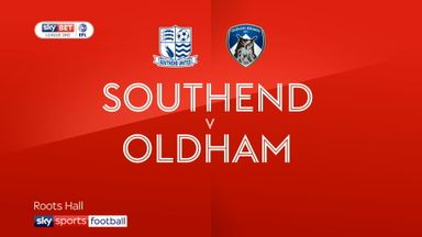 Southend 2-0 Oldham
