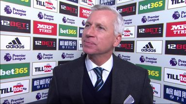 Pardew: We pushed hard
