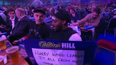 Rose teases Kane at the darts!