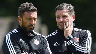 No McInnes at Aberdeen training