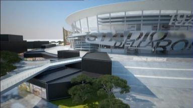 Roma launch new stadium plans
