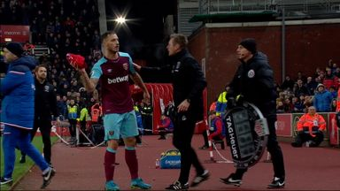 Hughes' spat with Arnautovic