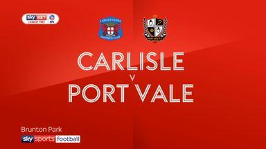 Carlisle 1-2 Port Vale