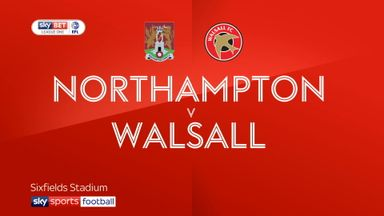 Northampton 2-1 Walsall