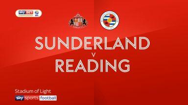 Sunderland 1-3 Reading