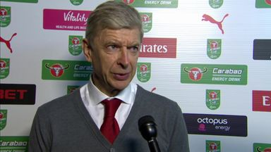 Wenger pleased with Arsenal's spirit