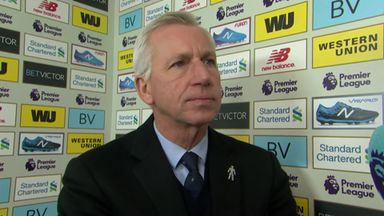 Pardew: We deserved the point