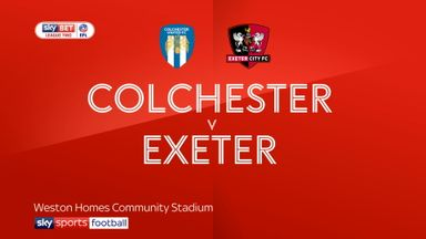 Colchester 3-1 Exeter