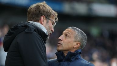 Hughton respects Klopp apology