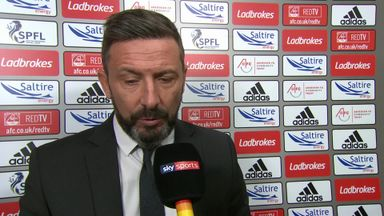 McInnes 'forgets' Aberdeen line-up