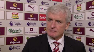Burnley v Stoke - Hughes