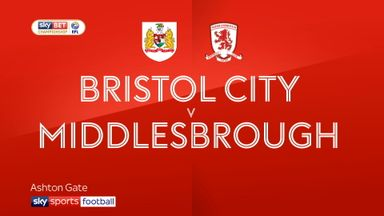 Bristol City 2-1 Middlesbrough