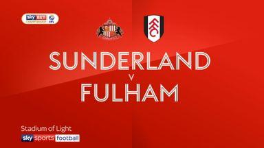 Sunderland 1-0 Fulham
