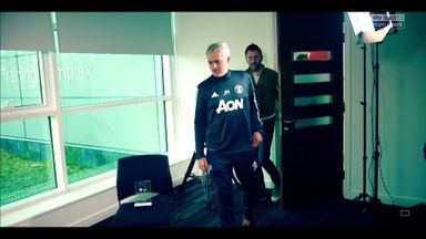 Jose looks ahead to Manchester derby