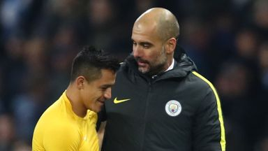 Guardiola coy on Sanchez swoop