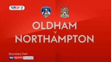 Oldham 5-1 Northampton