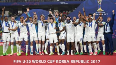 'Incredible year for England'