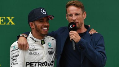 Button: Lewis brought out my best