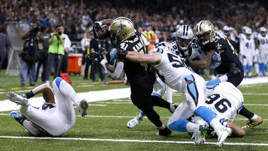 Panthers 21-31 Saints
