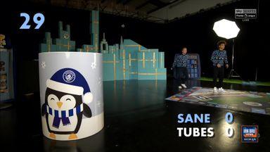Leroy Sane v Tubes: Christmas Challenge