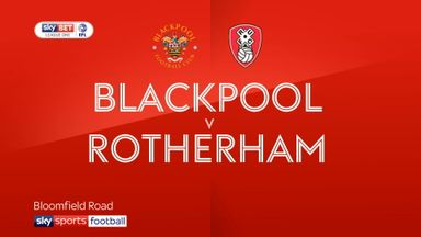 Blackpool 1-2 Rotherham