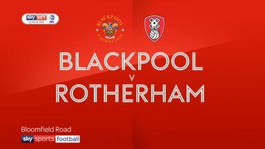 Blackpool 1-2 Rotherham