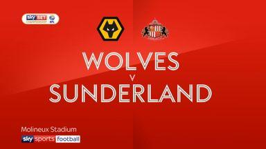 Wolves 0-0 Sunderland