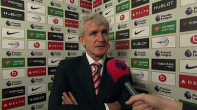 Hughes: It was too much for us today